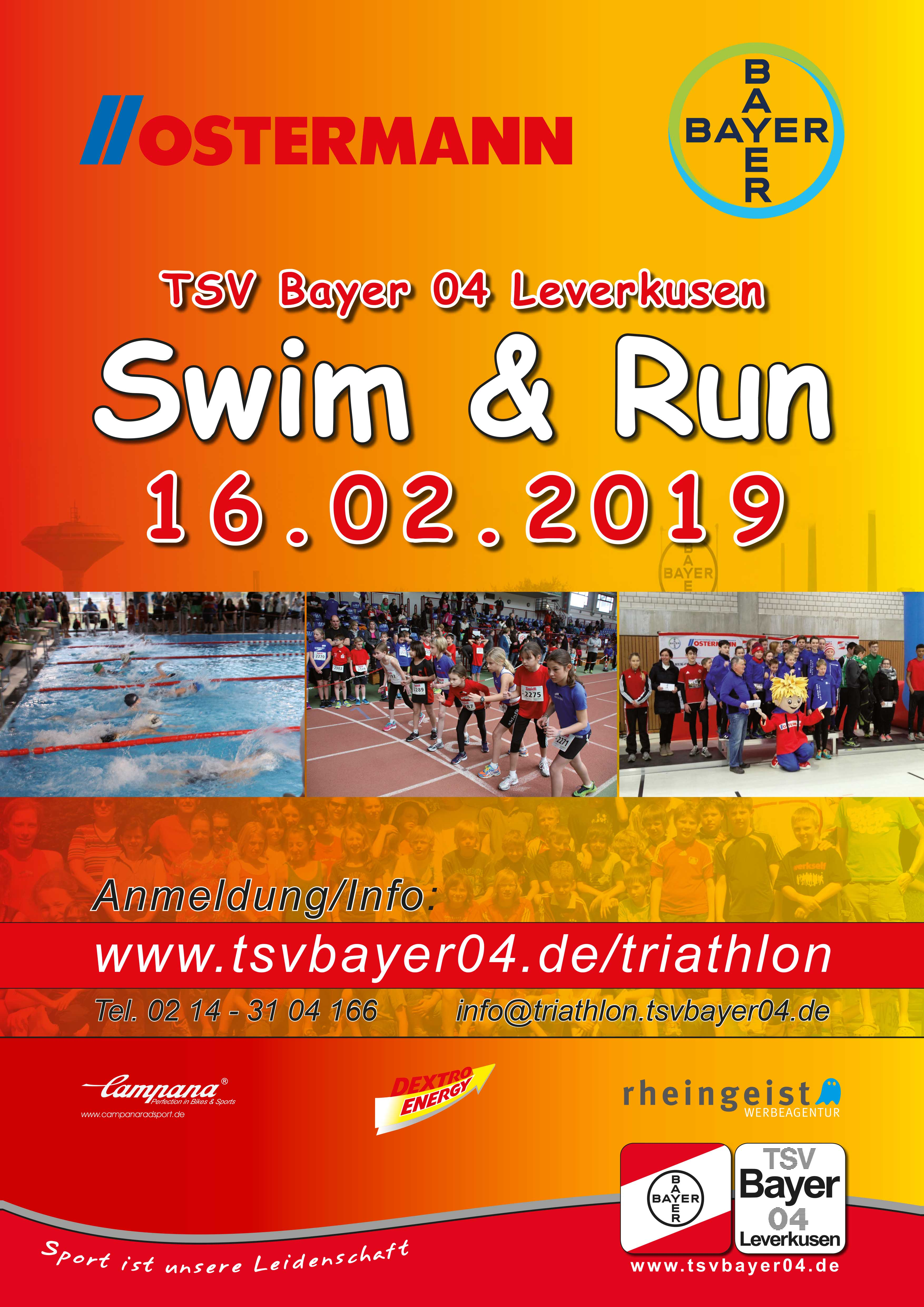 Ostermann Swim Run Tsv Bayer 04 Leverkusen Ev